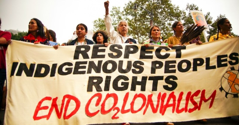 Indigenous people rally for their rights