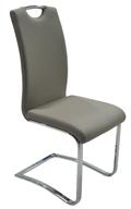 Szánkótalpas szék, szürke