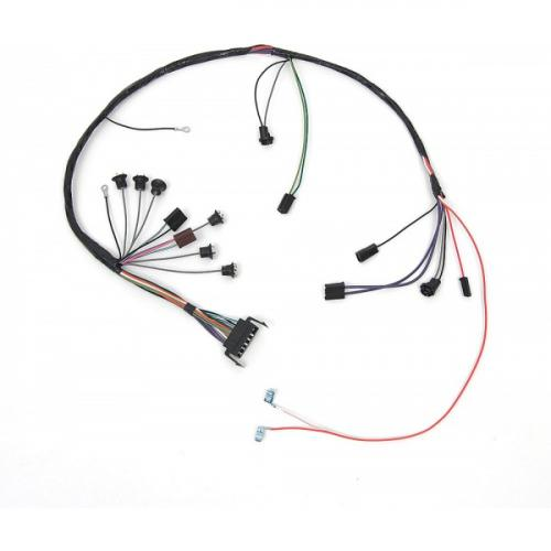Full Size Chevy Console Wiring Harness, For Cars With