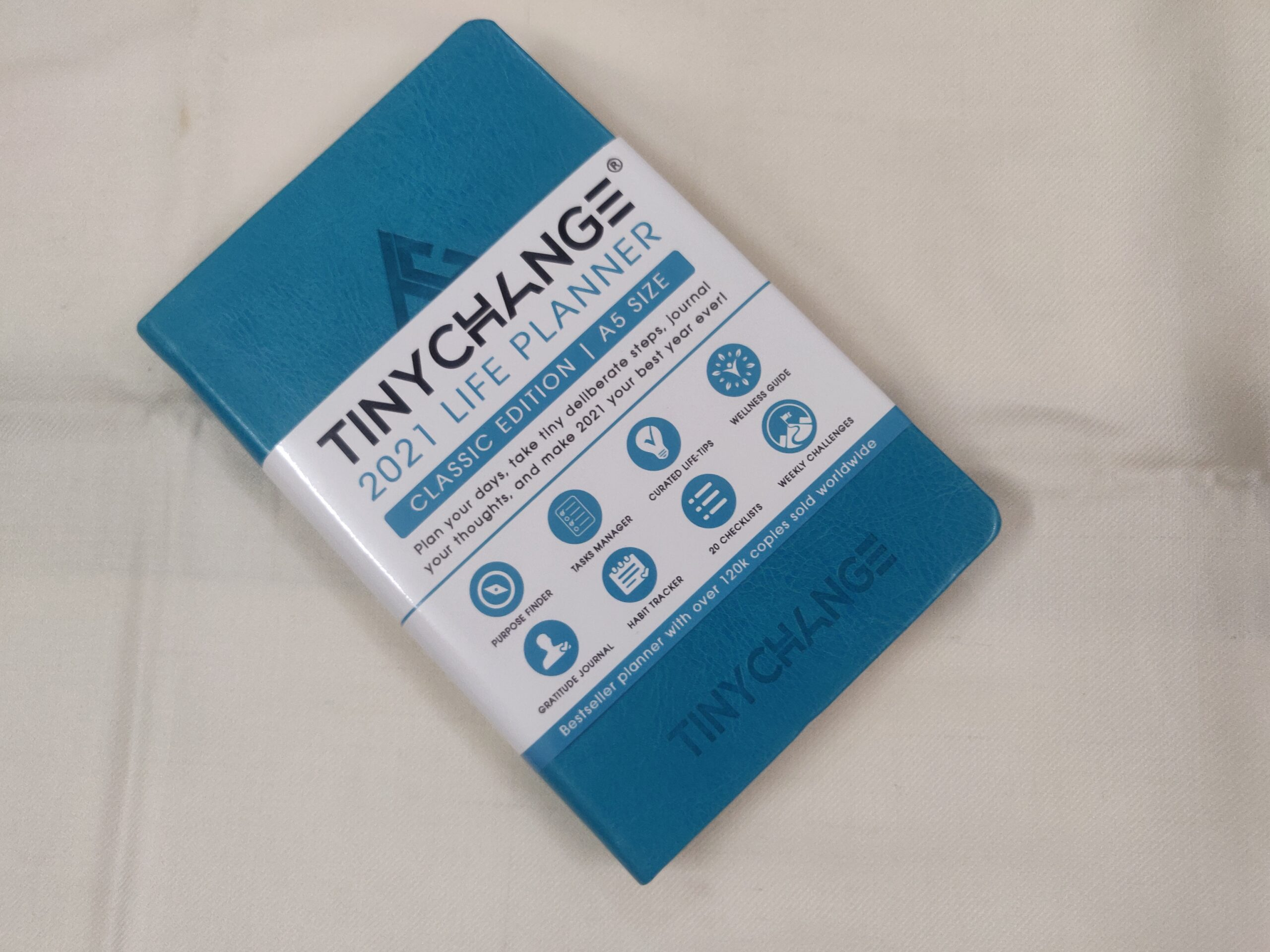 TINYCHANGE 2021 Classic Life Planner Diary