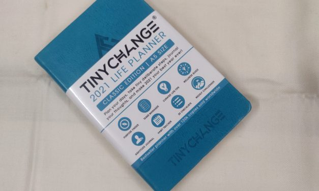 TINYCHANGE 2021 Classic Life Planner Diary Review