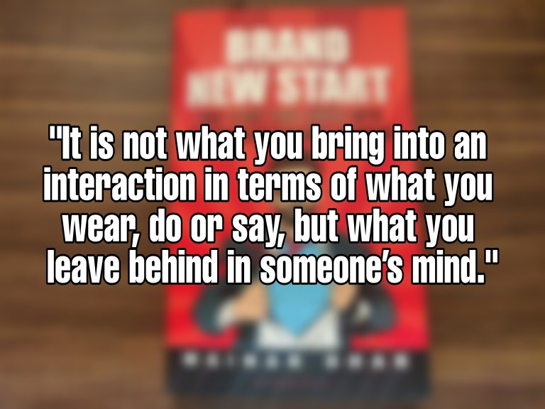 Quote from Brand New Start by Mainak Dhar - 01