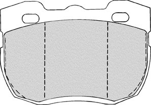 BOSH QUIETCAST BRAKE PAD SET