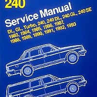 BENTLEY REPAIR MANUAL VOLVO 240 SERIES 1983-1993