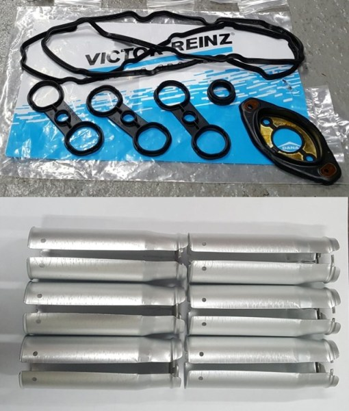 VALVE COVER GASKET KIT with SPARK PLUG TUBES BMW 3.0 07-13