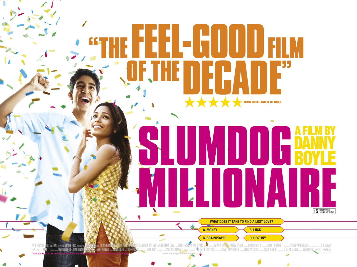 Slumdog Millionaire 2 of 9 Extra Large Movie Poster