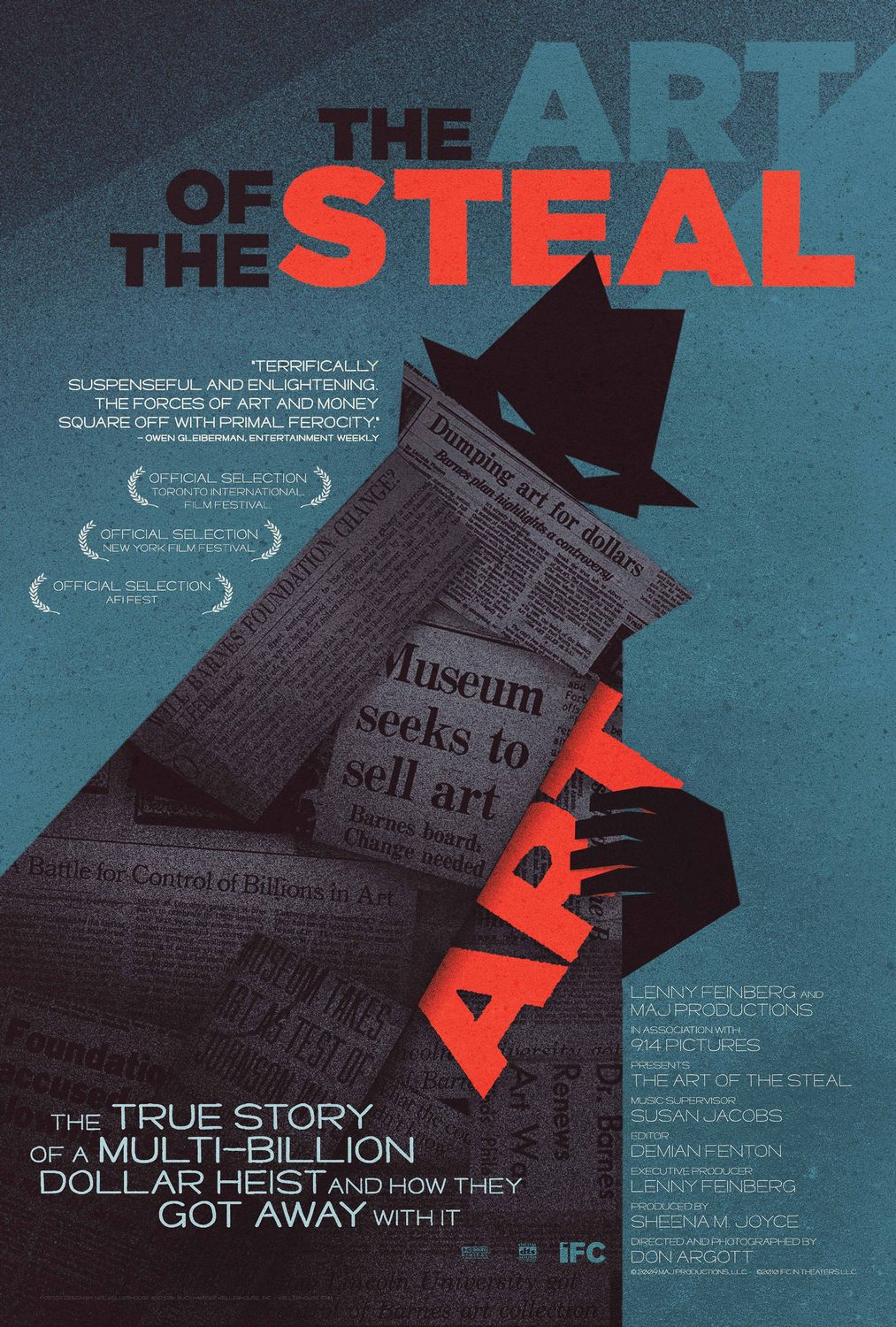 Extra Large Movie Poster Image for The Art of the Steal