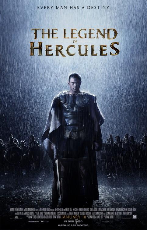 Hercules: The Legend Begins Movie Poster