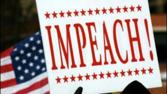 impeach trump protest sign