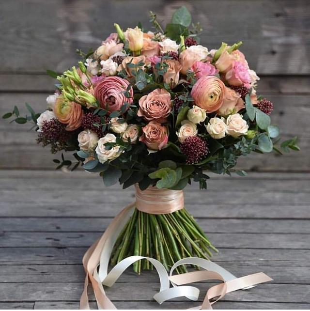 bouqet fiori misti freschi