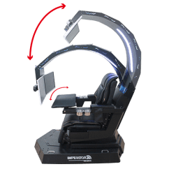 Imperator Works Gaming Chair Converts To Bed Imperatorworks Iw R1 Zero Gravity Reclining Image
