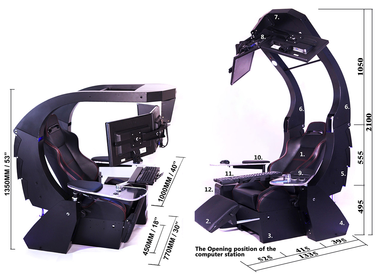 imperator works brand gaming chair resin patio lounge chairs imperatorworks work hard play longer enjoy the specification of iw j20 workstation is as follows