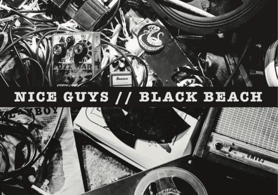 black beach + nice guys, NICE GUYS/BLACK BEACH SPLIT 7″