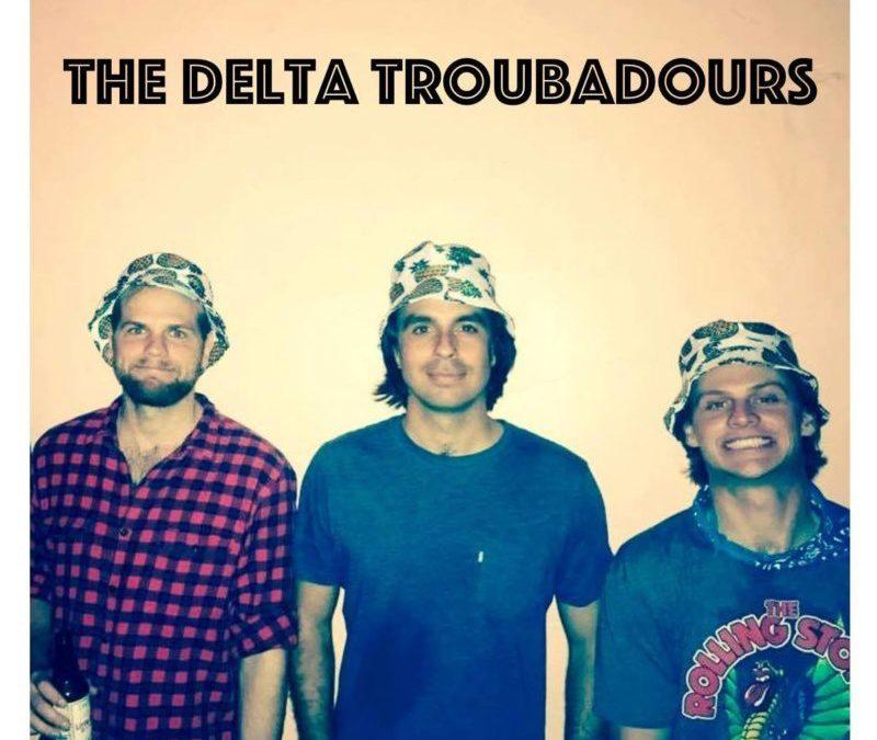 """the delta troubadours, """"stone thrasher"""""""