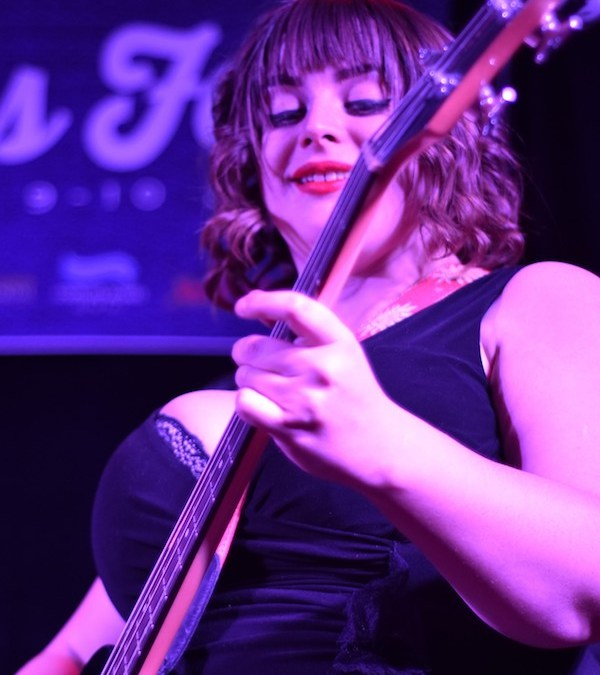 the amanda fish band @ winter blues fest