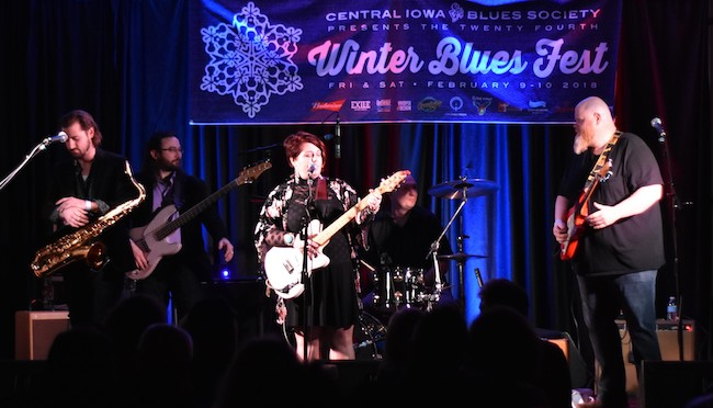avey/grouws band @ winter blues fest