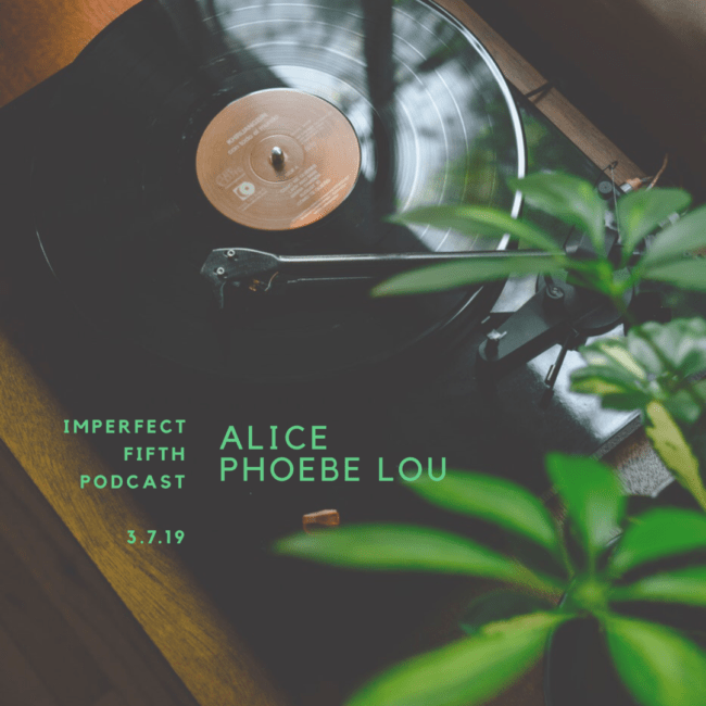 a conversation with alice phoebe lou