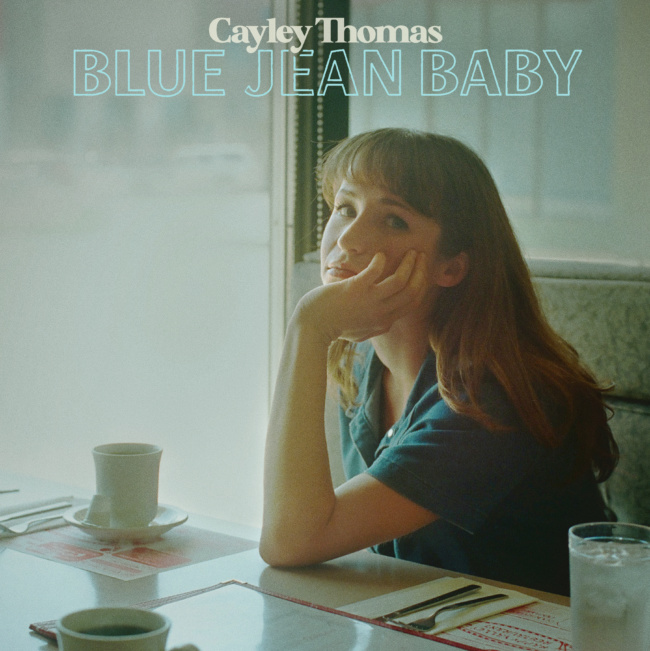 "cayley thomas, ""blue jean baby"""
