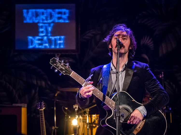 murder by death @ liberty hall