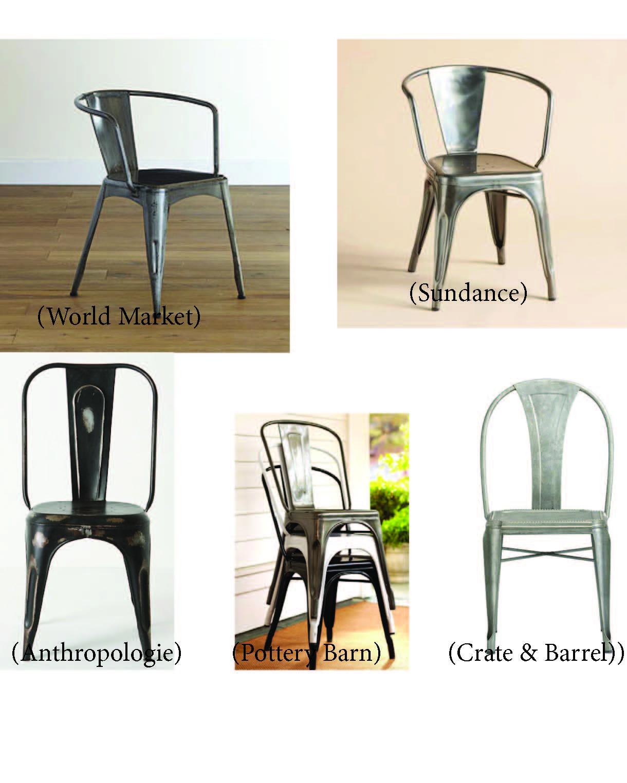 metal tub chair design studio anthropologie january catalog 2012 popsugar fashion