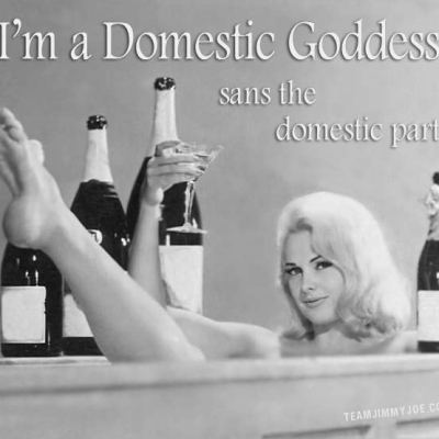 Domestic Goddess can equal Feminist