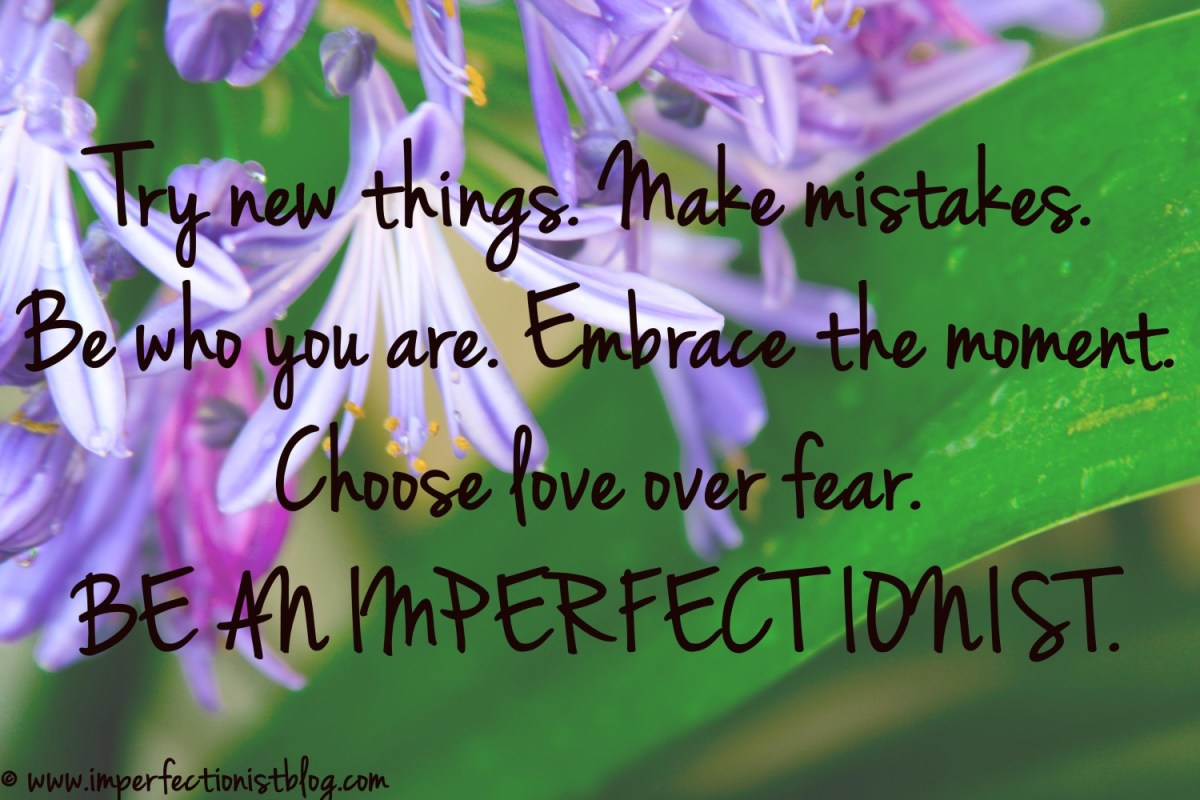 What is an Imperfectionist?