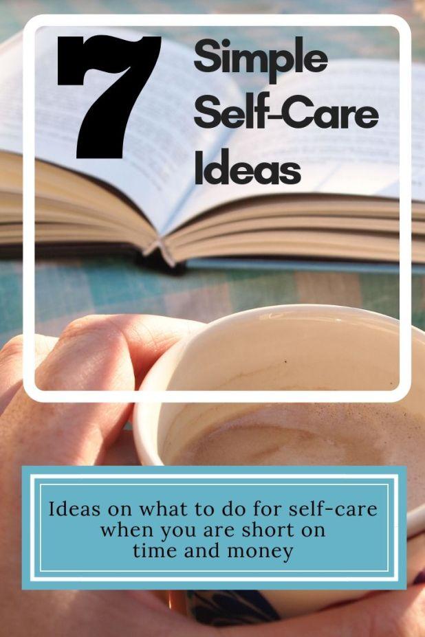 7 Simple Self-Care Ideas