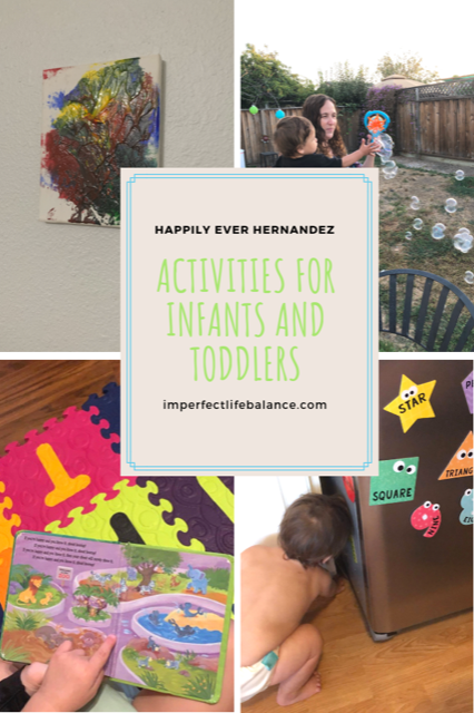 Activities for Infants and Toodlers