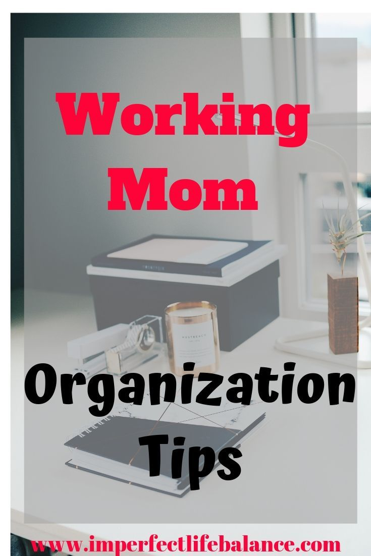 organization tips PIN