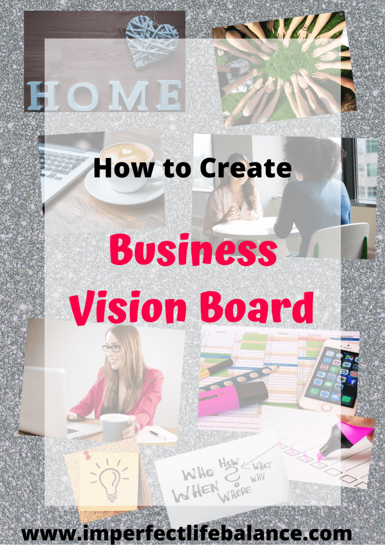 business vision board pin