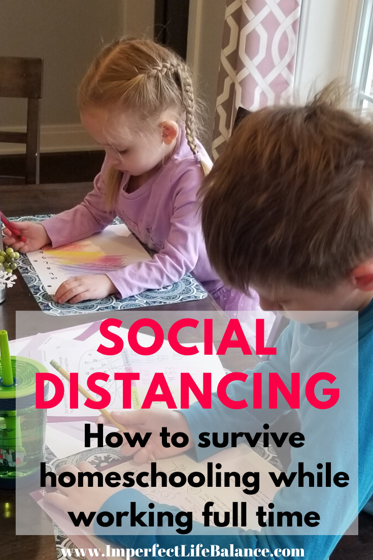 How to Survive homeschooling while working full time