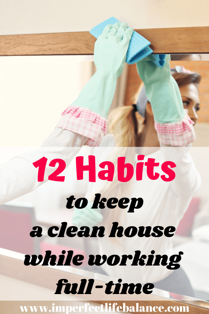 Small Habits to Keep a Clean House