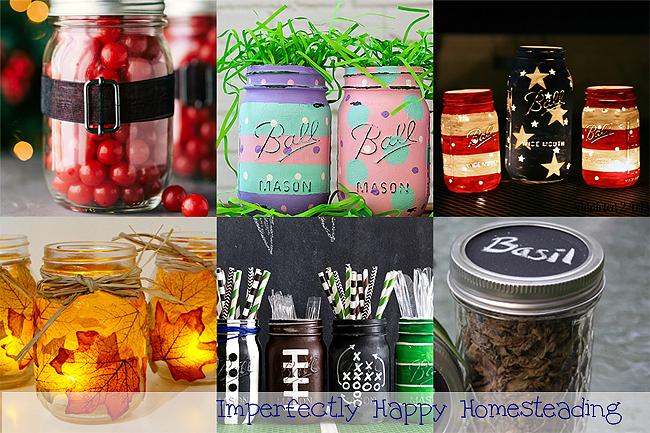 simple mason jar crafts