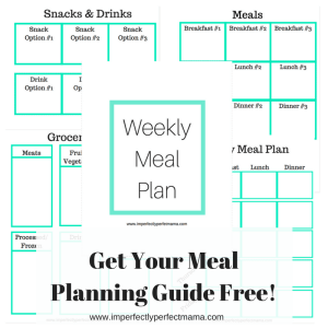 Get Your Meal Planning Guide Free!