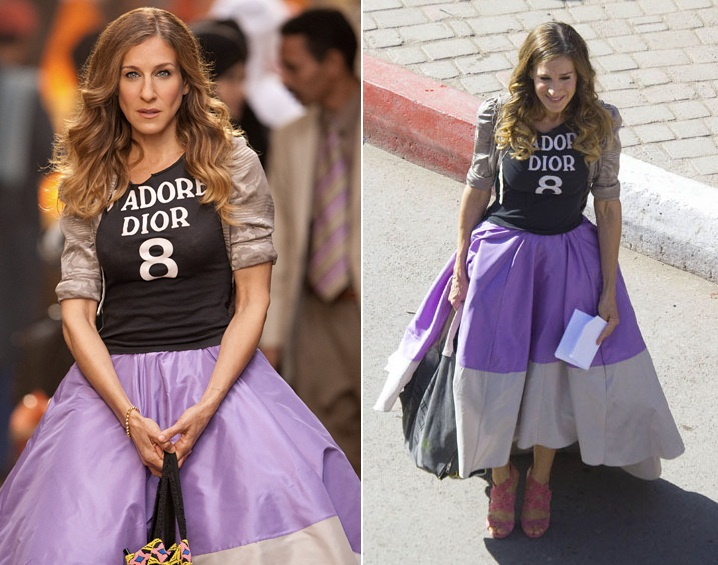 The look of Carrie Bradshaw