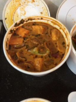 Sizzled Kadai Paneer (Please Excluse the bad image quality)