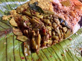 Payal Mezhukkupuratty and Inji Curry to its right.