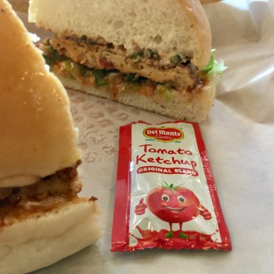 Mexican Chicken Burger - the Ketchup