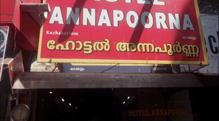 Hotel Annapoorna (Photo Courtesy: Google)