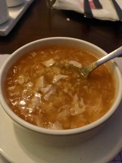 Chilli Garlic Chicken Soup