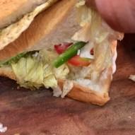 TBO Non Veg Club Sandwich - Veggies