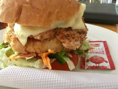C&B Royal Chicken Burger