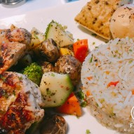 Grilled Veggies and Fragrant Rice