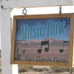 Music Row Sign