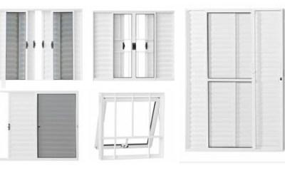 Nova linha de portas e janelas de alumínio!