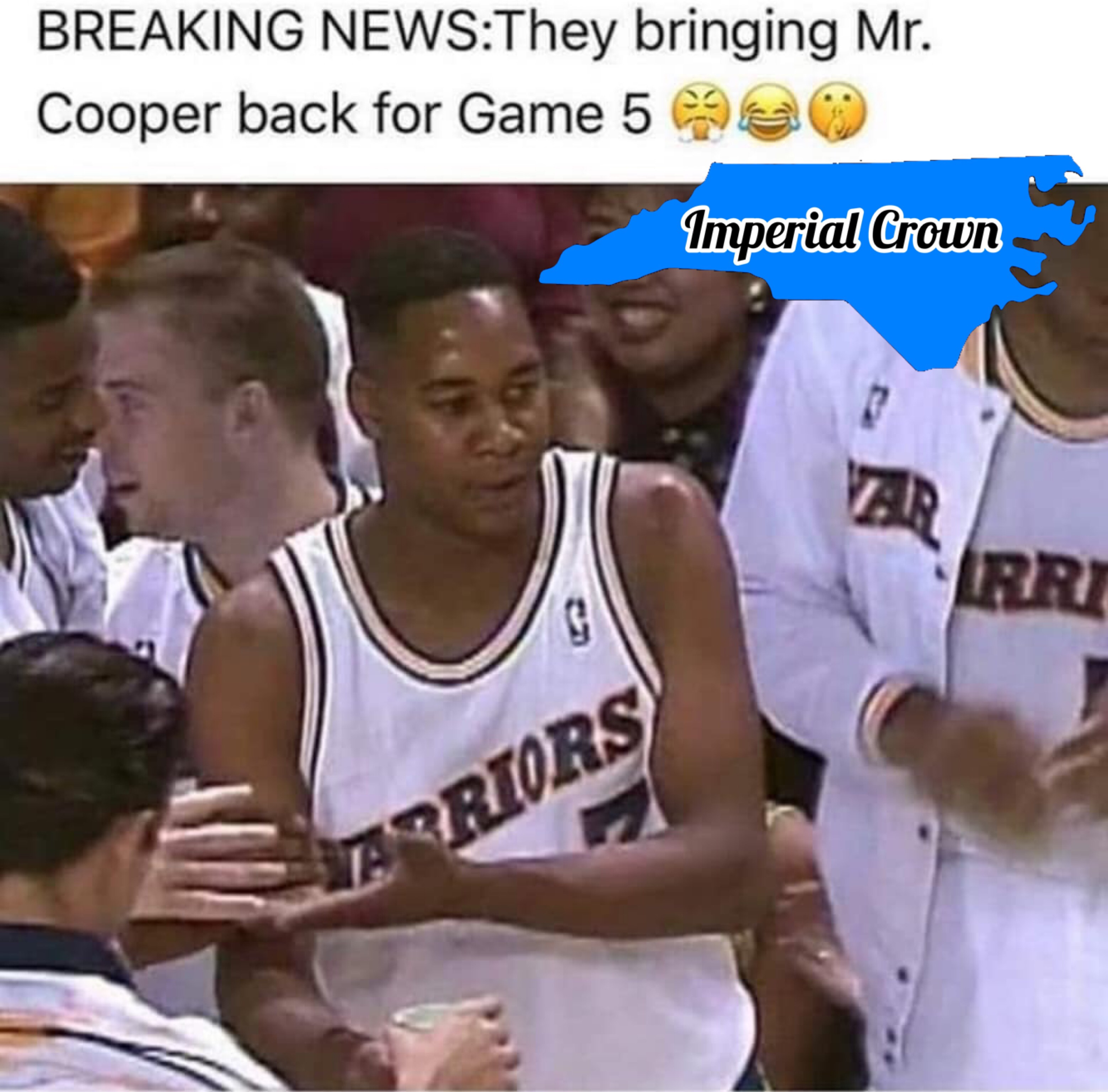 They bringing Mr. Cooper back for game 5