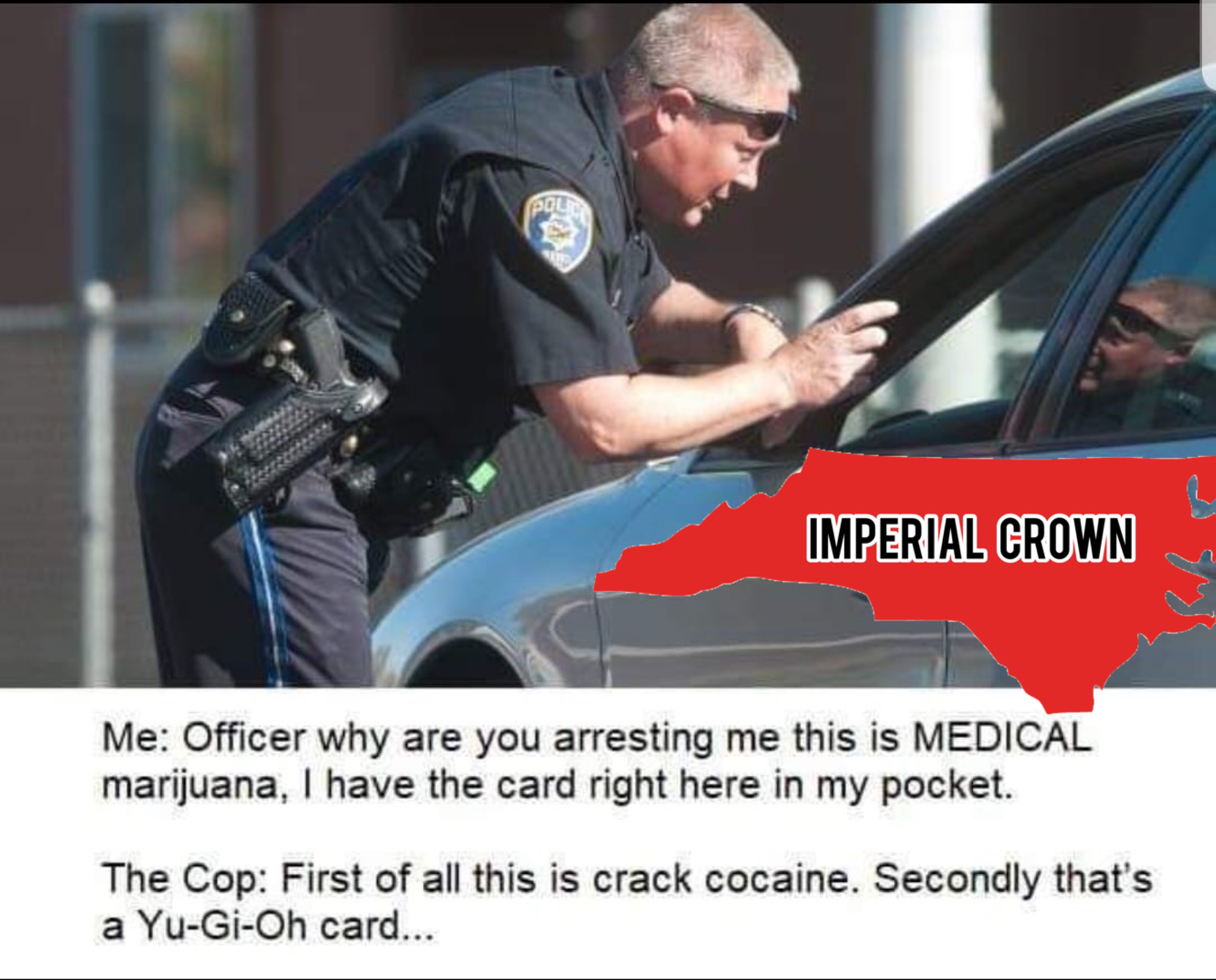Officer why are you arresting….