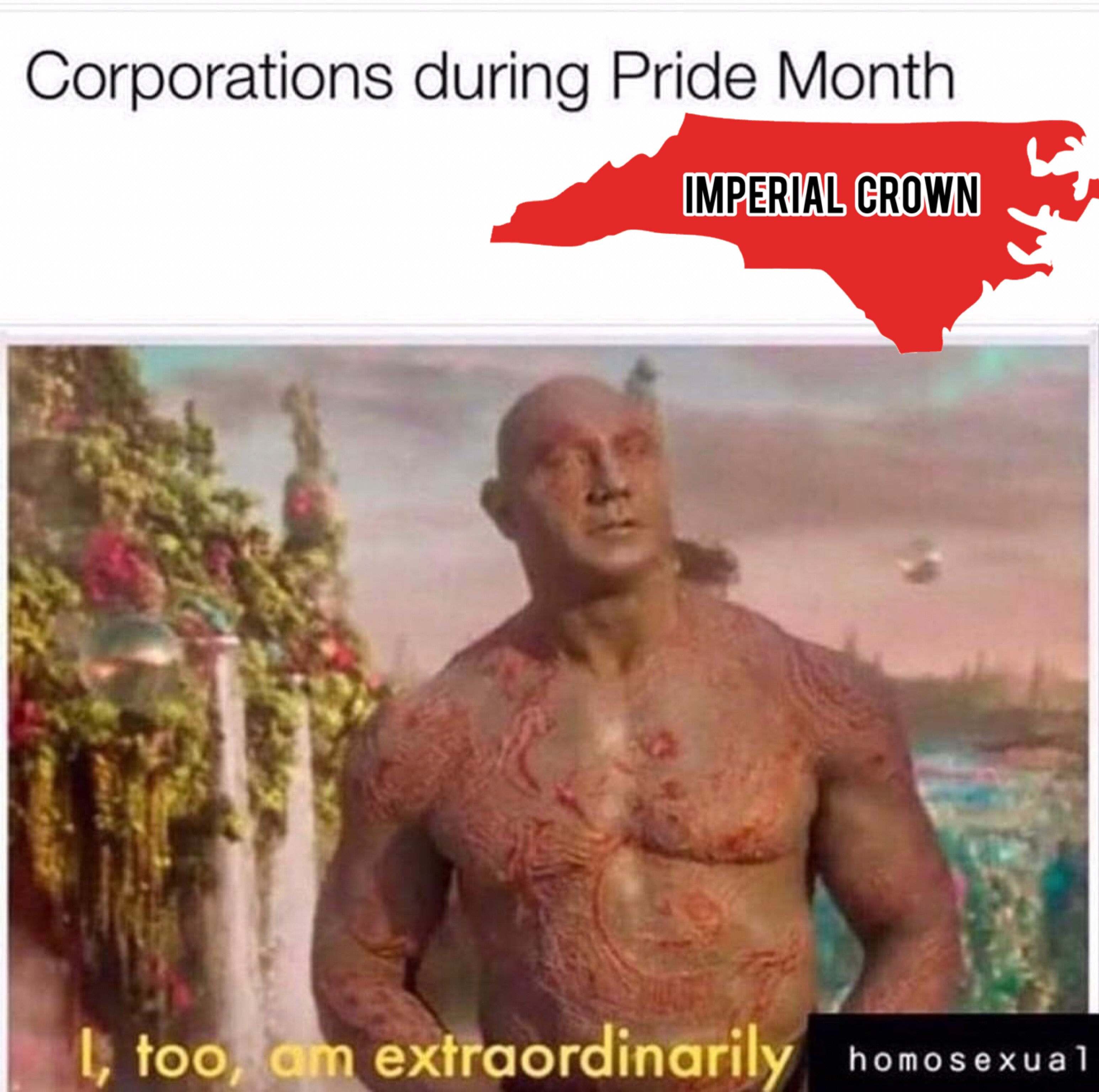 Corporations during pride month….