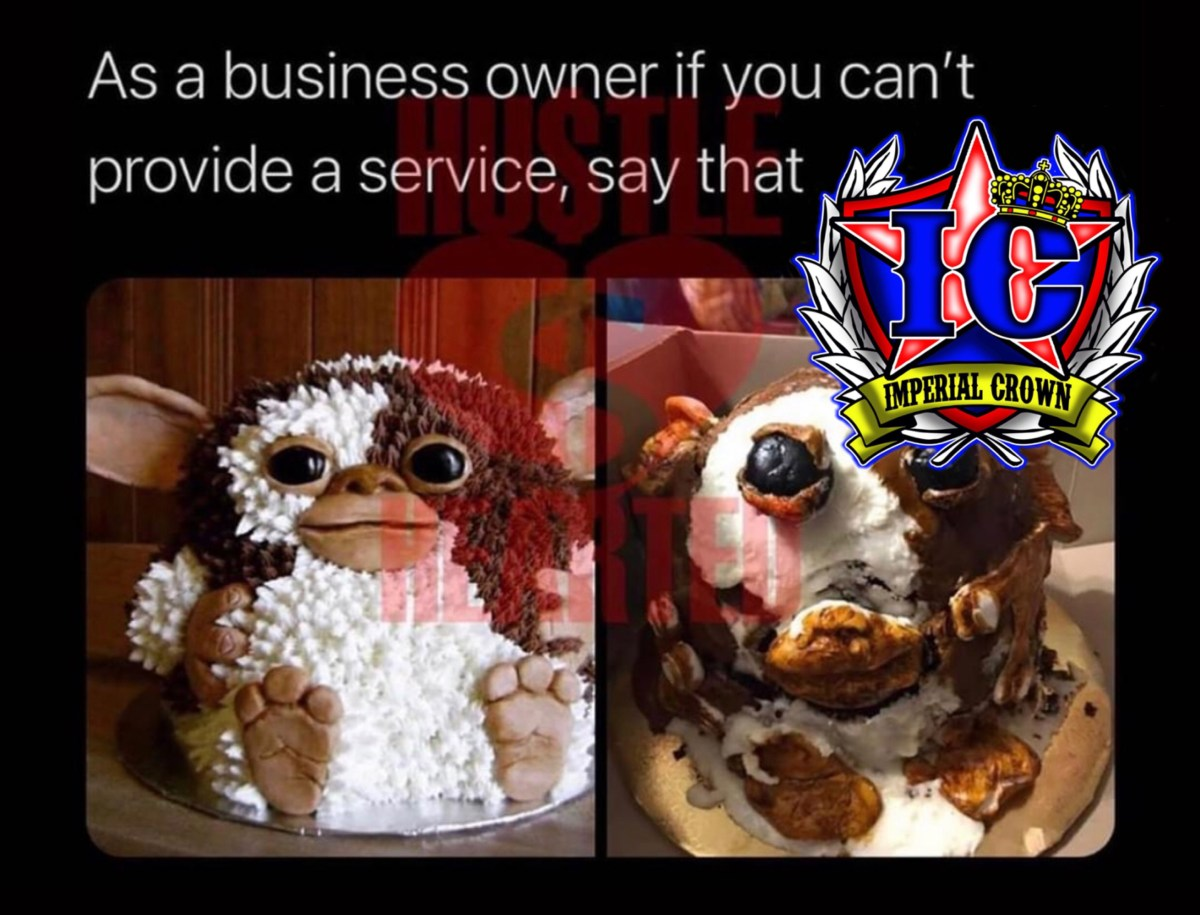 As a business owner if you can't provide a service say that