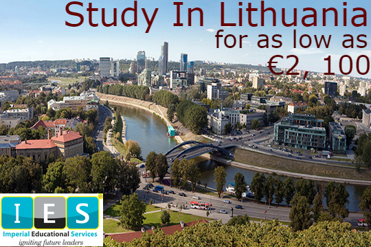 Study in the Heart of Europe; Lithuania